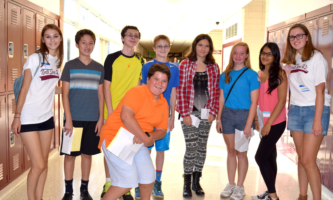 Incoming 9th graders welcomes at ns high school sciox Images
